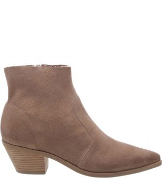 Ankle Boot Camurcina West Taupe Beige - Arezzo