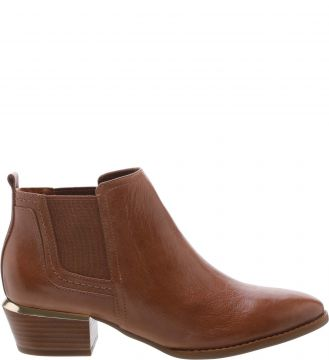 Ankle Boot Western Elástico Toast Brown - Arezzo