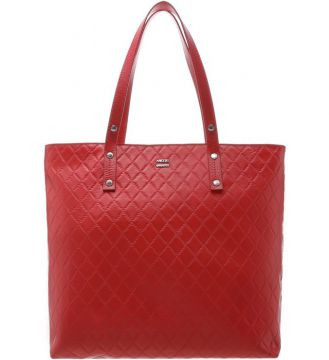 Bolsa Shopping New Matelassê Aline Grande Lust Red - Arezzo