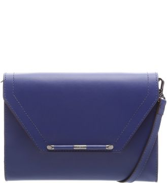 Bolsa Envelope Shape Liso Digital Blue   AREZZO