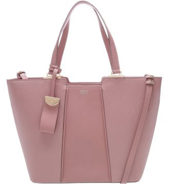 Bolsa Couro Shopping Mantova Rose Blush   AREZZO
