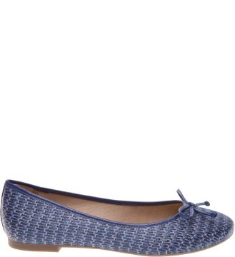 Sapatilha Ráfia Greek Multi Blue Bluebird   AREZZO
