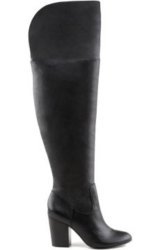 Bota Over The Knee Preta   AREZZO