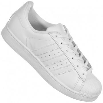 77037cbf96d Tênis Adidas Originals Superstar Foundation Branco - H68392 ...