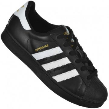 Tênis Adidas Originals Superstar Foundation Preto/branco - H