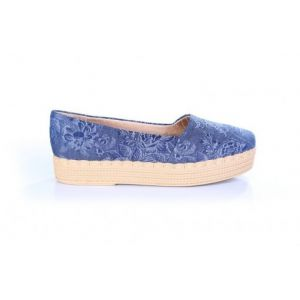 Sapatilha Piccadilly 107001 Tecido Jeans