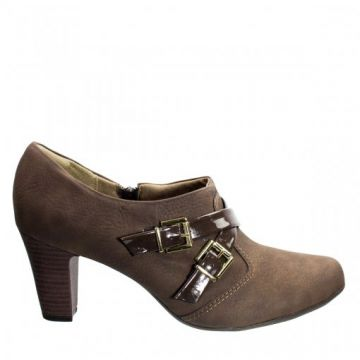 Ankle Boot Feminina Piccadilly Nobuck 640045