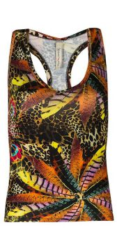 Regata Nadador Estampa Digital Canellado