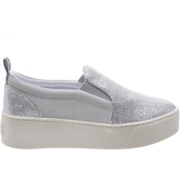 Tênis California Slip On Puma Prateado - Fiever