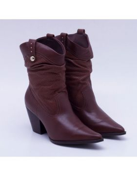 Ankle Boot Bottero Texas Marrom