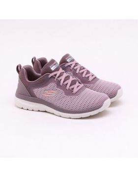 Tênis Skechers Bountiful Quick Path Lilás Feminino