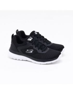 Tênis Skechers Bountiful Quick Path Preto Feminino