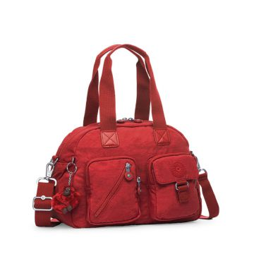 Bolsa Defea Vermelha Warm Red Kipling
