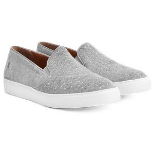 Tênis Slip On Santa Lolla Hot Fix Cinza