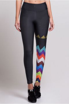 Legging Benefit Estampa Chevron One - ET049