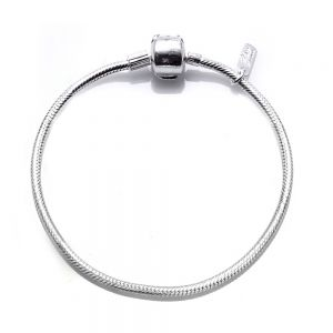 Pulseira de Prata You com trava 16cm