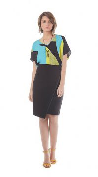 SAIA ESSENTIAL TRANSPASSADA DETALHE IMITATION LEATHER  Mari