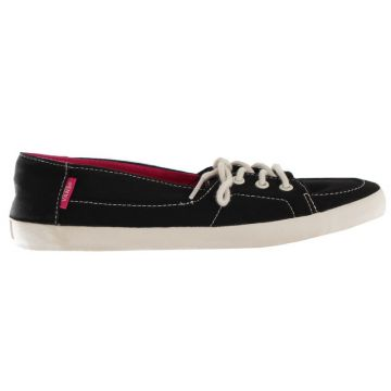 Tênis Vans Palisade Vulc Preto Black/antique White Purple