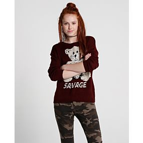 Blusa Tricot Bear Savage - Pool Street
