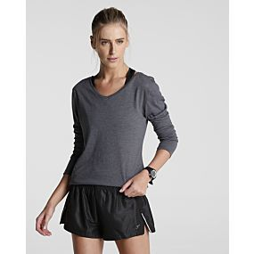Blusa Flamê Decote V - Body Work