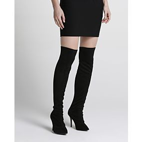Bota Over The Knee Suede - Anne Kanner