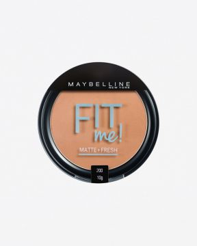 Pó Compacto Fit Me Mate 200 Maybelline