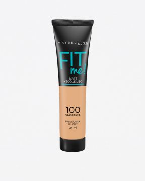 Base Fit Me Mate Líquida 100 Maybelline