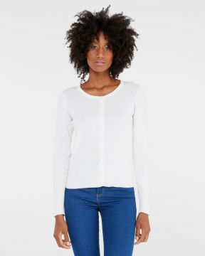 Cardigan Curto Basic - Basics