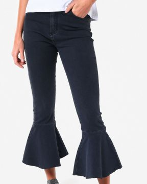 Calça Jeans Flare Cropped - Pool Trendy