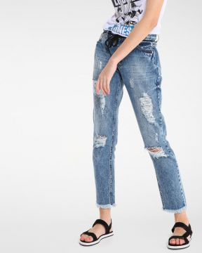 Calça Jeans Relaxed - Jeanseria