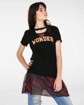 Camiseta Recorte Wonder - Pool Street