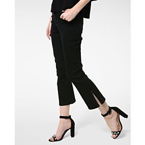 Calça Jeans Cropped Flare - Anne Kanner Urban