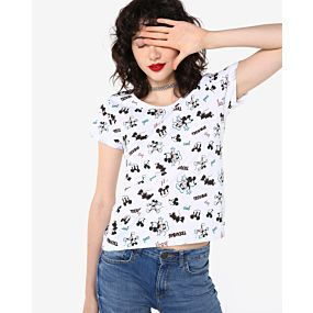 Camiseta Estampas Disney Clássicos - Disney Personagens Stan