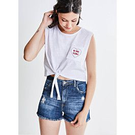 Short Hot Pants em Jeans - Youcom