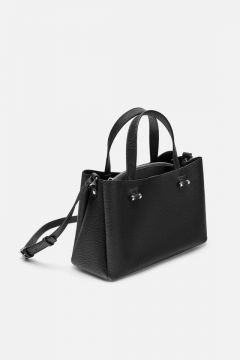 City Bag Com Zíper Interno - Zara