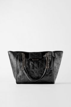 Bolsa Tote Bag Soft Rock - Zara