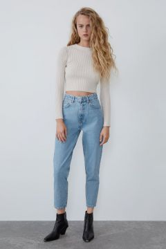 Jeans Mom Fit - Zara