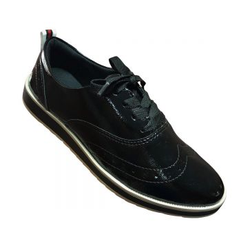 Oxford Dakota Verniz Feminino - Preto