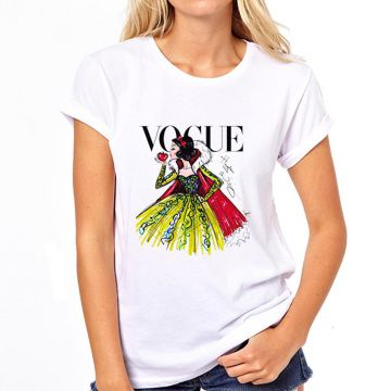 Camiseta Coolest Vogue Feminina - Branco
