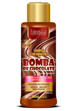 Shampoo Forever Liss Bomba de Chocolate 300ml - Incolor