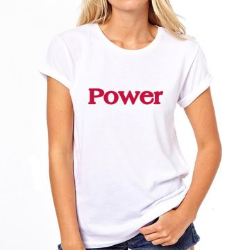 Camiseta Coolest Power Feminina - Branco