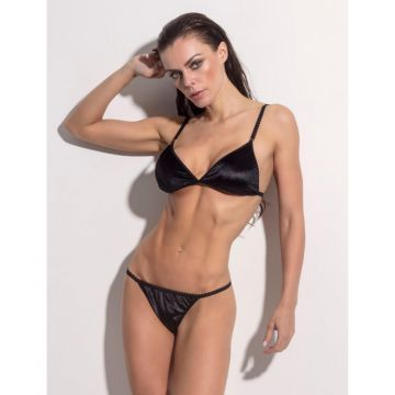 Conjunto Lingerie Superhot Attraction - Preto