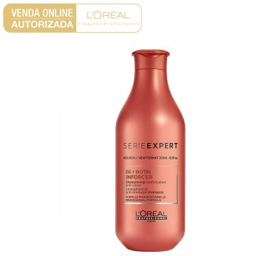 Shampoo LOreal Professionnel Inforcer 300ml - Incolor