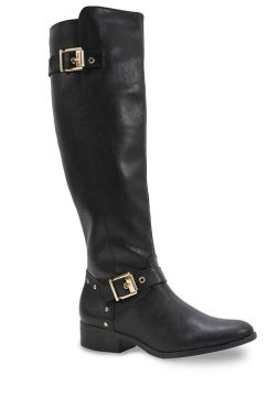 Bota Feminina Via Marte Over Knee - Preto