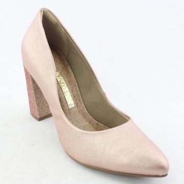 Sapato Via Marte - Rose Gold