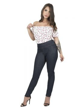 Calça Skinny Plus Size Catwalk 2170CO - Azul