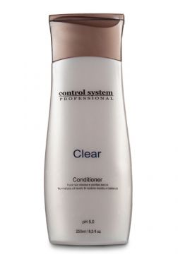 Control System Clear - Condicionador 250ml - Incolor