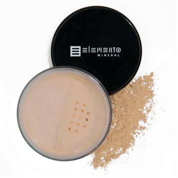 Pó Solto BB Powder Mineral FPS 15 Elemento Mineral Pale Ligh
