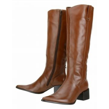 Bota Encinas Leather Montaria - Caramelo