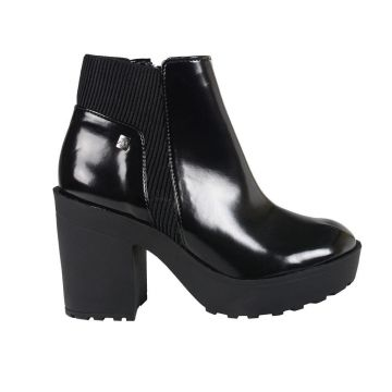 Ankle Boot Loucos e Santos Box Soft L51067001 A01 - Preto